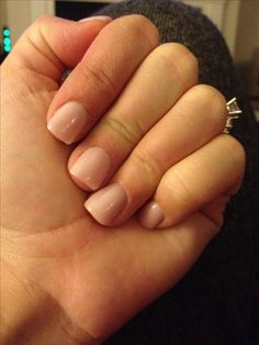 Natural Acrylic Nails on Pinterest