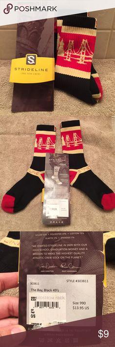 Strideline athletic crew sock Open Package new/unworn men crew sock strideline Underwear & Socks Athletic Socks