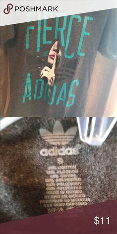 Gray Marilyn Monroe adidas shirt Adidas shirt . adidas Tops