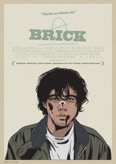Brick film-love this film Detective Movies, Rian Johnson, See And Say, Film Aesthetic, Great Movies, Film Movie, Movies Showing, Brick, Nostalgia