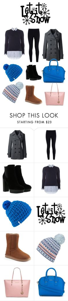 """""""Winter Outfit"""" by jsd13711 on Polyvore featuring Lands' End, NIKE, Hogan, Dorothy Perkins, Coal, Lipsy, MICHAEL Michael Kors and Furla"""