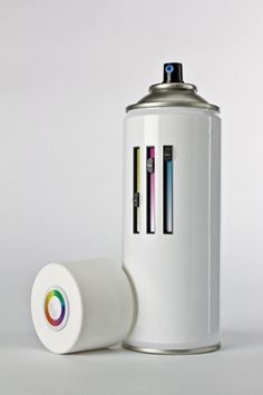 ALL IN ONE SPRAY CAN | It's only a concept but still an amazing idea.