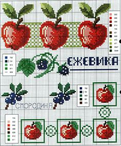Kanaviçe İşleme Şablonları ,  #basitkanaviçeörnekleri #etaminhavluörnekleri #kanaviçeörnekleriyenimodeller #kolayetaminörnekleri #şemalıetaminörnekleri , Sizlere birçok çalışmanızda kullanacağınız çok güzel kanaviçe etamin örnekleri şablonları hazırladık. Kanaviçe pano modellerinde kull... Cross Stitch Fruit, Cross Stitch Kitchen, Cross Stitch Needles, Cross Stitch Borders, Cross Stitch Samplers, Cross Stitch Designs, Cross Stitching, Cross Stitch Patterns, Embroidery Art