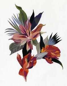 flower on Behance
