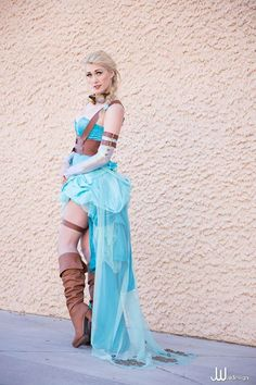 Steampunk Elsa 'Frozen' Cosplay   Steampunk Costume