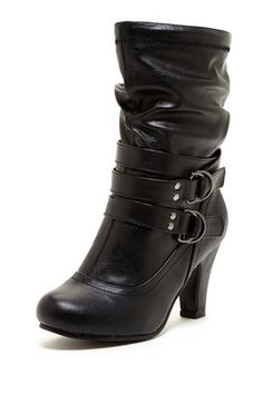 Charles Albert River Strapped Bootie