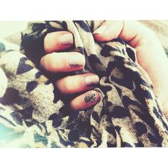 Jamberry Champagne Toast with Hear Me Roar accent...