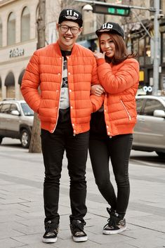TRENDING: Matching Korean couple's outfits. @Dan Uyemura Cuson We are totally doing this!
