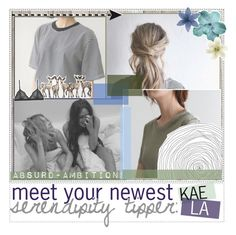 """meet your newest tipper, kaela"" by serendipity-tips ❤ liked on Polyvore featuring Piet Hein Eek, Clips, Cosabella and kaelastylestips"