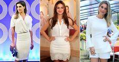 Deborah Secco, Bruna Marquezine e Flávia Alessandra são algumas das estrelas que investem na combinação de duas ou mais peças em branco. Veja 35 famosas que usam e confira as dicas de consultoras de moda!