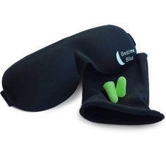 Sleep Mask by Bedtime Bliss - Contoured & Comfortable With Moldex Ear Plug Set. Includes Carry Pouch for Eye Mask and Ear Plugs - Great for Travel, Shift Work & Meditation (Black) Best Earplugs For Sleeping, Tapas, Airplane Essentials, Travel Essentials, Travel Checklist, Best Sleep Mask, Best Contouring Products, Beauty Products