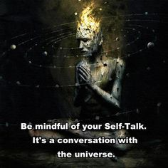 Every thought you have is sent out to the universe.