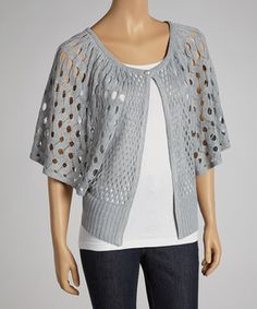 Say goodbye to seasonal chill thanks to a sassy crocheted cardigan. This lovely layer helps a lady stay warm and stylish.