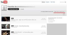 Descargar listas de reproducción o favoritos de youtube