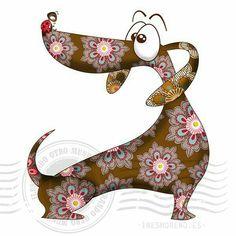 Dachshund Parade Illustrations — bellasecretgarden: (via Dachshund Arte Dachshund, Dachshund Love, Daschund, Dachshund Drawing, Dapple Dachshund, Funny Dachshund, Tableau Pop Art, Wal Art, Weenie Dogs