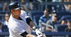 Yankees' Gary Sanchez named American League Player of the Month Yankees Fan, New York Yankees, Gary Sanchez, American League, Sports Figures, Baseball Cards, Stars, Historia, Sterne