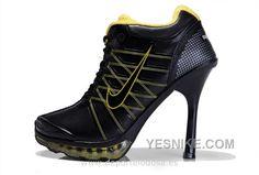 lowest price 7cdd1 5503f Women Nike Air Max 2012 Heels Black Yellow Buy Nike Shoes, Nike Running  Shoes Women