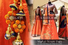 yourself, personalized outfits for your #DDay! #SangeetLehenga #BridalDresses #Asopalav #Wedding #Brides #IndianWeddings #BigFatIndianWedding