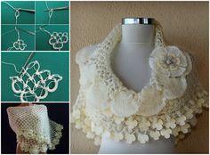 Solomons Knot Crochet Shawl FREE Pattern