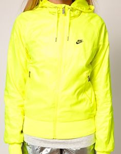Nike lightweight jacket made from weather-resistant recycled fabric