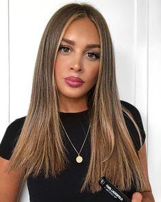 72 Brunette Hair Color Ideas in 2019 Bilage Hair, Hair Dos, Cheveux Beiges, Bronde Hair, Light Brown Hair, Pastel Hair, Brown Hair Colors, Brunette Hair, Hair Highlights