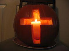 Neat Pumpkin Devotional as you carve a pumpkin!