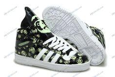 watch a09f4 54d49 Adidas Originals Jeremy Scott Panda Black Fluorescence Women s Running  Shoes adidas outlet