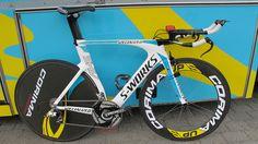 Roman Kreuziger's Specialized Shiv – SRAM RED-2012 – Bike used for the Giro Prologue (8.7km ITT stage)
