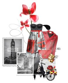 """""""The Heart Of London"""" by innety ❤ liked on Polyvore featuring French Connection, IRO, Chicwish, Forever 21, Proenza Schouler, A.V. Max, Lux-Art Silks, Dorothy Perkins, Estée Lauder and Wildfox"""