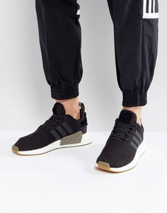 new styles 2e54b 4ea38 adidas Originals NMD R2 Trainers In Black BY9917