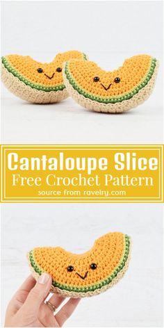 Crochet Apple, Crochet Fruit, Crochet Food, Crochet Gifts, Kawaii Crochet, Cute Crochet, Crochet Baby, Easy Crochet, Beginner Crochet Projects