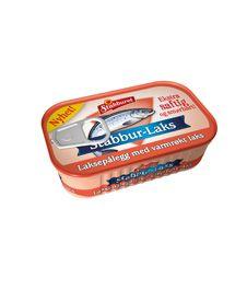 Stabbur-Laks med varmrøkt laks er et saftig og lett smørbart laksepålegg av grovhakket laks med biter av varmrøkt laks i en mild saus. Et smakfullt pålegg med en naturlig god smak. Pålegget kommer i praktiske bokser à 90 g. Stabbur-Laks med varmrøkt laks er naturlig rik på omega-3, protein og vitamin D.