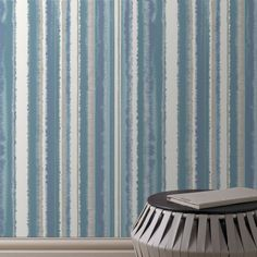 Papier peint Romany Stripes - Graham & Brown - Marie Claire Maison