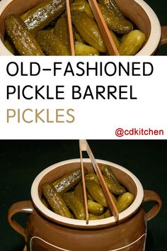 Be Amazed With These Five Recipes Using Dill Pickle Vodka Barrel Pickle Recipe, Crock Pickle Recipe, Deli Pickles Recipe, Homemade Pickles, Garlic Dill Pickles, Sour Pickles, Pickled Garlic, Bread & Butter Pickles, Kitchens