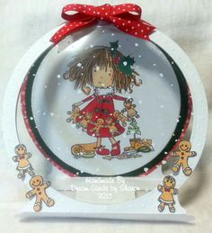 Tattered Christmas Bulbs, Christmas Cards, Tiddly Inks, Christmas Gingerbread, Twinkle Twinkle, Snow Globes, Card Crafts, Crafty, Holiday Decor