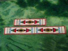 Handmade Native American Beadwork Blackfeet door allthingsdead