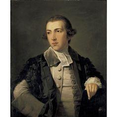Tilly Kettle, PORTRAIT OF WILLIAM EDEN, FIRST BARON AUCKLAND, WEARING AN OXFORD GENTLEMAN-COMMONER'S GOWN, CIRCA 1763-4