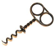 corkscrew Wine Gadgets, Wine Bottle Opener, Screw It, Antique Tools, Blacksmithing, Bobs, Antiques, Vintage, Ideas