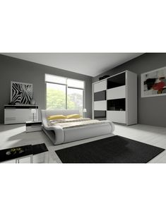 SET DORMITOR HAVANA III 200 CM #artimgroup #set #mobila #dormitor