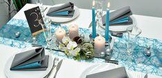 Viele Beispiele/Mustertische für Feste, Feiern & Events, z.B. Tischdeko zur Hochzeit, Taufe, Geburtstag, Kommunion, Konfirmation. Alle Artikel online bestellbar.