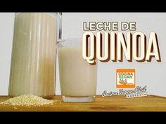 Leche de quinoa - Cocina Vegan Fácil - YouTube Quinoa, Vegan V, Food N, Health Remedies, Yogurt, Healthy Recipes, Healthy Food, Cheese, Sweet