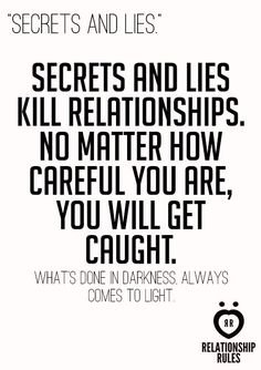Always.... If you can't be true to the one you vowed, then leave before sneaking around. Don't try to have both.