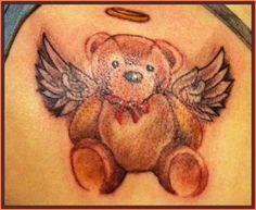 cool teddy bear tattoos