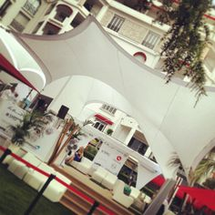 Quiet moment @ Majestic #digitaslbi_fr tent. Just miss the sun. Be patient, it always come to those who know how waiting for. #CannesLions 2013