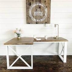 L Shaped Desk - DIY Woodworking Plans