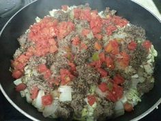 German Skillet Dinner~ absolutely wonderful 3 tbl butter or margarine 1/2 cabbage , chopped 2/3 c uncooked rice (I use minute rice) 1 med onion, chopped 2 lbs hamburger 1 can diced tomatoes or rotel tomatoes Salt and pepper to taste  Melt butter in skillet, layer cabbage, uncooked rice, onion, raw crumbled hamburger, salt and pepper, then tomatoes. Cover with lid and simmer 25-35 minutes until rice, cabbage and burger are done. Do not stir or lift lid until done.