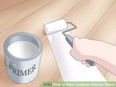 Image titled Paint Linoleum Kitchen Floors Step 4
