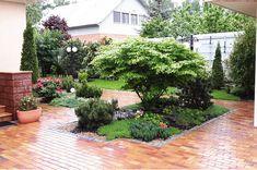 Backyard Garden Design, Yard Design, Lawn And Garden, Gravel Landscaping, Front Yard Landscaping, Sweet Home Design, Flower Pot Design, Cottage Garden Plants, Landscape Design