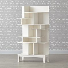 Shop Modern Maze Tall Bookcase.  While most mazes leave you feeling lost, our Modern Maze Tall Bookcase makes it easy to find whatever you're looking for.