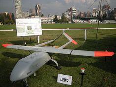 etrcLipán M3   etrc    tipo : es un avión no tripulado (UAV) para vigilancia, reconocimiento aéreo e inteligencia   cantidad de adquiridos : 10   cantidad de operativos : 10   año de adquición : 2008